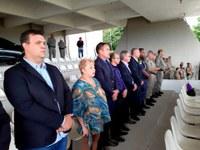 Câmara acompanha troca de comando da BM de Esteio