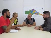 Felipe Costella visita secretária municipal de Cidadania