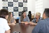 Procuradoras da Mulher visitam Delegacia de Esteio