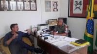 Sandro Severo: Vice-presidente aborda segurança nos bairros com a BM