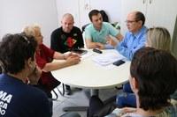 Vereador Euclides Castro recebe integrantes das modalidades esportivas independentes de Esteio