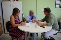 Vereador Sandro recebe visita do diretor de Desenvolvimento Econômico