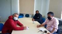 Vereador visita Secretaria de Segurança para  falar de ações da Guarda Municipal