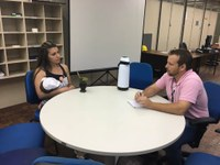 Vereadora Fernanda Fernandes conhece ações socioambientais da Trensurb