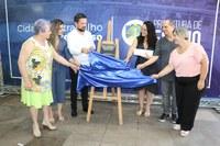 Vereadores participam da reinauguração da escola Tomé de Souza