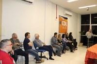 Vereadores participam de lançamento de campanha de Natal da CDL